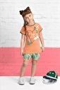 U.S. Polo Assn. Lisanslı Kız Çocuk Şort Takım Pembe